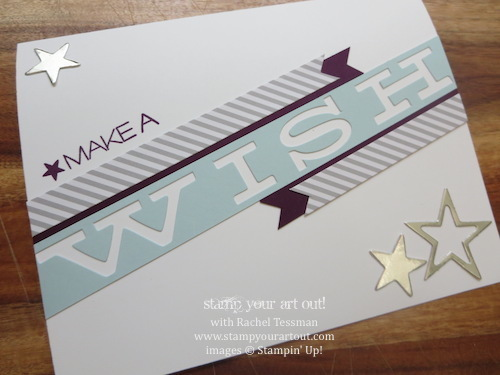 Wish Big Birthday Card Stamp Your Art Out
