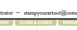 clubs & codes tab