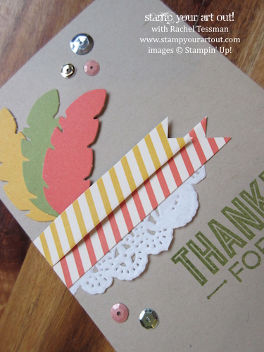 Sweet As Pie October 2014 Paper Pumpkin Lots of Alternate Ideas… stampyourartout #stampinup - Stampin' Up!® - Stamp Your Art Out! www.stampyourartout.com