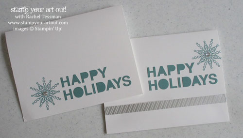 How to get 80 Christmas Cards from one November 2014 Paper Pumpkin kit… #stampyourartout #stampinup - Stampin' Up!® - Stamp Your Art Out! www.stampyourartout.com