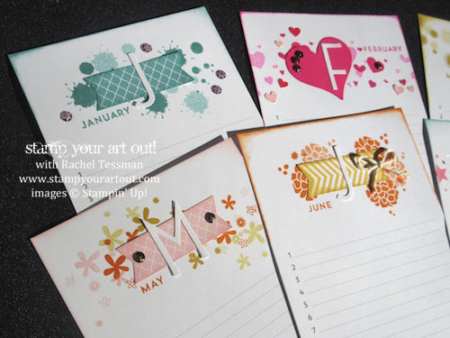 Click here to see what else you can make with the Perpetual Birthday Calendar kit, its matching stamp set, and Big Day Sale-a-Bration stamp set… #stampyourartout #stampinup - Stampin' Up!® - Stamp Your Art Out! www.stampyourartout.com