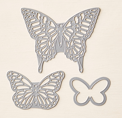 Butterfly Thinlits… #stampyourartout #stampinup - Stampin' Up!® - Stamp Your Art Out! www.stampyourartout.com