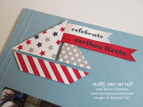Summer pages made with the June 2014 Paper Pumpkin kit… Stampin' Up!®  Stamp Your Art Out! www.stampyourartout.com  #stampyourartout #stampinup