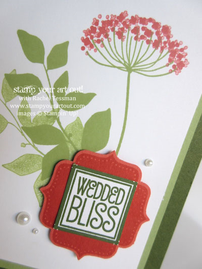 Simple card using Summer Silhouettes and Tag Talk stamp sets… #stampyourartout #stampinup - Stampin' Up!® - Stamp Your Art Out! www.stampyourartout.com