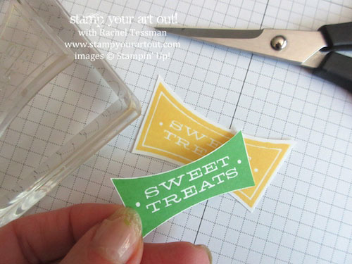 Click here to see directions for making an adorable Fry Box done up in Cucumber Crush and Daffodil Delight colors with All About Sugar stamp set…#stampyourartout #stampinup - Stampin' Up!® - Stamp Your Art Out! www.stampyourartout.com