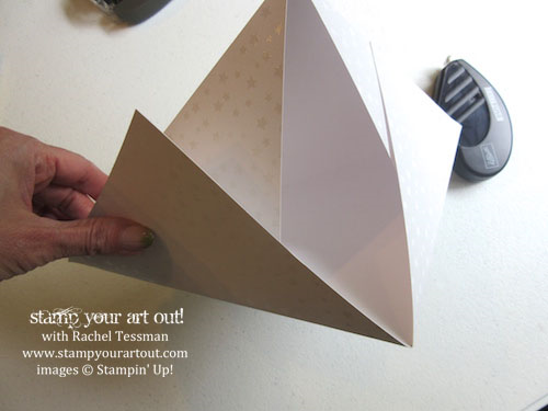 Wide triangle box – click here for directions…#stampyourartout #stampinup - Stampin' Up!® - Stamp Your Art Out! www.stampyourartout.com