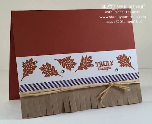 Alternate card made with the September 2015 Wickedly Sweet Treat Paper Pumpkin kit …#stampyourartout #stampinup - Stampin' Up!® - Stamp Your Art Out! www.stampyourartout.com