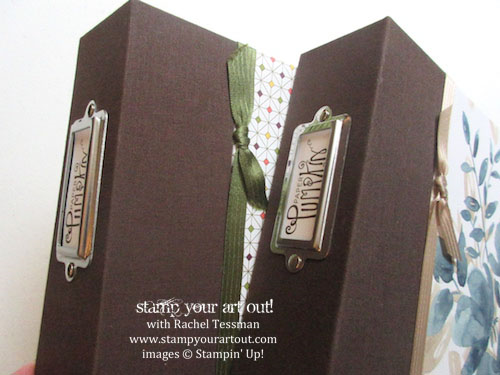 A great way to store your Paper Pumpkin stamp sets! (Thanks, Connie Stewart for sharing your idea on our Paper Pumpkin Fan Club Facebook Group!)… #stampyourartout #stampinup – Stampin' Up!® - Stamp Your Art Out! www.stampyourartout.com