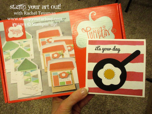 Click here to see photos from my Paper Pumpkin Palooza… #stampyourartout #stampinup - Stampin' Up! - Stamp Your Art Out! www.stampyourartout.com