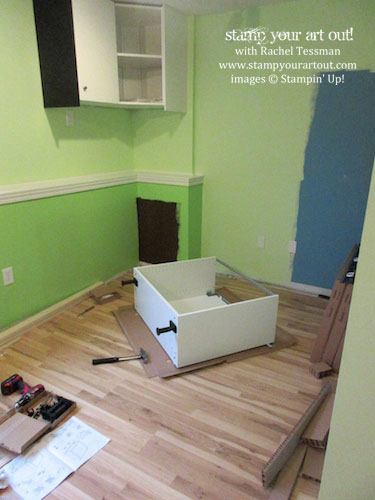 My craft room is almost done – click here to see & read about the progression of the remodel… #stampyourartout #stampinup - Stampin' Up!® - Stamp Your Art Out! www.stampyourartout.com