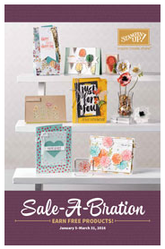 The 2016 Sale-A-Bration Brochure!…#stampyourartout #stampinup - Stampin' Up! - Stamp Your Art Out! www.stampyourartout.com