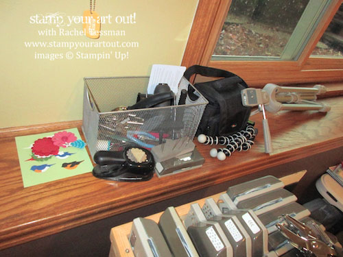 What my craft room USED to look like – click here to see & read about my dream room come true (before and after pictures AND links to where I purchased things)… #stampyourartout #stampinup - Stampin' Up!® - Stamp Your Art Out! www.stampyourartout.com