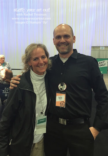 Hanging out with Justin Knutson, Paper Pumpkin staff member at OnStage Live 2016! #onstage2016… #stampyourartout #stampinup - Stampin' Up!® - Stamp Your Art Out! www.stampyourartout.com