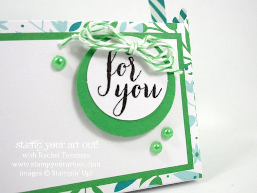 Click here to see this and other alternate ideas I created with the March 2016 Pocketful Of Cheer Paper Pumpkin kit…#stampyourartout #stampinup - Stampin' Up!® - Stamp Your Art Out! www.stampyourartout.com