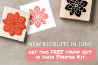 Join my community of stampers and paper crafters, and choose two FREE bonus stamp sets with your starter kit during the month of July!... Stampin' Up!®  Stamp Your Art Out! www.stampyourartout.com  #stampyourartout #stampinup