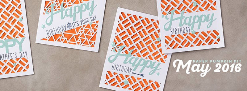 The May 2016 Many Manly Occasions Paper Pumpkin kit – click here to see some alternate project ideas created with the contents of this kit… #stampyourartout #stampinup - Stampin' Up!® - Stamp Your Art Out! www.stampyourartout.com