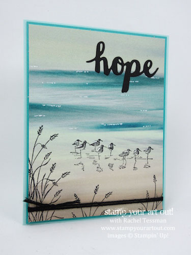 Wetlands + Serene Scenery = Fabulous Card… #stampyourartout - Stampin' Up!® - Stamp Your Art Out! www.stampyourartout.com