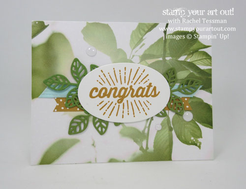 Serene Scenery designer paper and Scenic Sayings stamp set (copied the great card found on page 102)… #stampyourartout - Stampin' Up!® - Stamp Your Art Out! www.stampyourartout.com