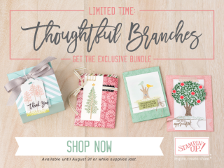 Thoughtful Branches stamp set & Beautiful Branches Thinlits available during August 2016... #stampyourartout #stampinup - Stampin' Up!® - Stamp Your Art Out! www.stampyourartout.com