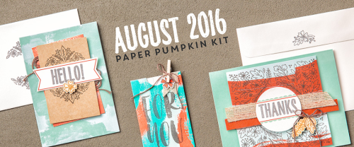 I've posted Part 1 of my alternate ideas from the August 2016 Bold Botanicals Paper Pumpkin kit... #stampyourartout - Stampin' Up!® - Stamp Your Art Out! www.stampyourartout.com