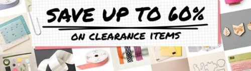 Lots of items have just been added to the Clearance Rack!…#stampyourartout - Stampin' Up!® - Stamp Your Art Out! www.stampyourartout.com