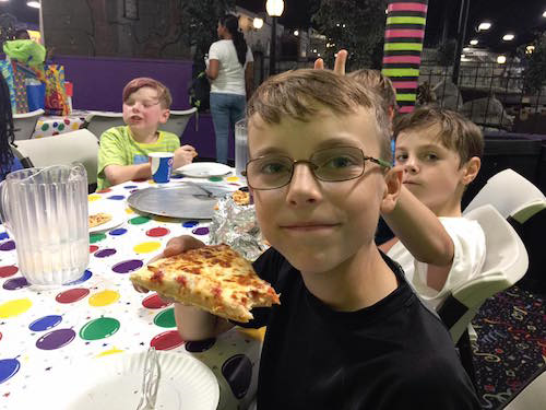Nick and Luke at Robbie's 10th birthday... #stampyourartout - Stampin' Up!® - Stamp Your Art Out! www.stampyourartout.com