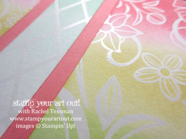 12x12 Scrapbook pages created with Falling Flowers stamp set and May Flowers thinlits… #stampyourartout - Stampin' Up!® - Stamp Your Art Out! www.stampyourartout.com