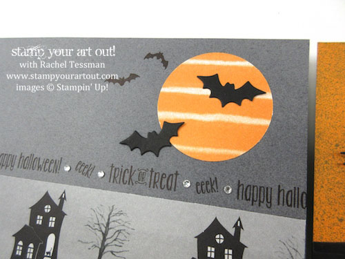 October 2016 Halloween Scenes Scrappin' Class... #stampyourartout - Stampin' Up!® - Stamp Your Art Out! www.stampyourartout.com
