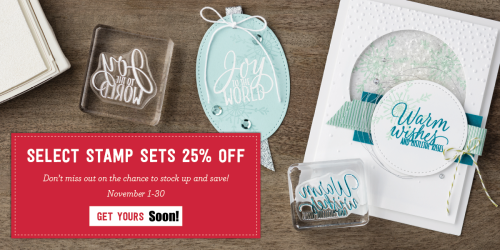 Stampin' Up! announced the November special: stamp sets that will be on sale and a new set of dies you may just need to add to your crafting collection.… #stampyourartout - Stampin' Up!® - Stamp Your Art Out! www.stampyourartout.com