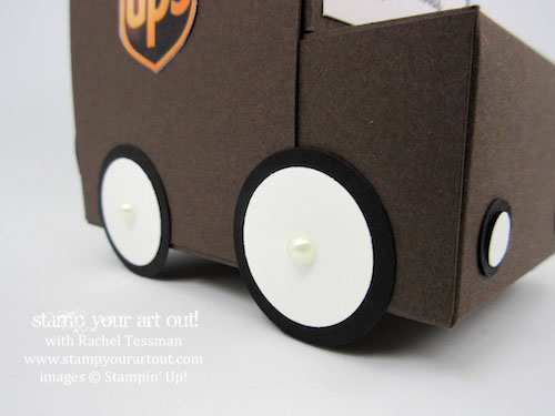UPS is making deliveries in mini trucks this weekend!.… #stampyourartout - Stampin' Up!® - Stamp Your Art Out! www.stampyourartout.com