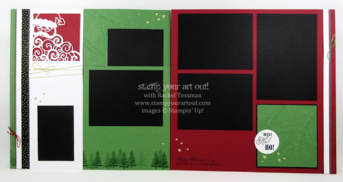 November 2016 Detailed Santa Scrapbooking Class.… #stampyourartout - Stampin' Up!® - Stamp Your Art Out! www.stampyourartout.com