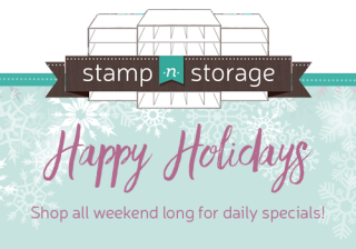 Stamp-n-Storage is offering some great deals this holiday season!…#stampyourartout - Stampin' Up!® - Stamp Your Art Out! www.stampyourartout.com