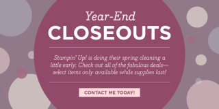 Year-End Closeouts…#stampyourartout - Stampin' Up!® - Stamp Your Art Out! www.stampyourartout.com