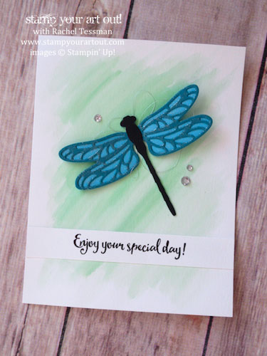January 2017 Dragonfly Dreams Card Class…#stampyourartout - Stampin' Up!® - Stamp Your Art Out! www.stampyourartout.com