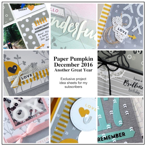 Sneak Peek at the December 2016 Wonderful Winterland Paper Pumpkin Kit exclusive alternate projects…#stampyourartout - Stampin' Up!® - Stamp Your Art Out! www.stampyourartout.com
