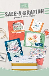 Get in on Stampin' Up!'s 2017 Sale-A-Bration – get a free Sale-A-Bration item with each $50+ order, get extra Stampin' Rewards at the $250+ level and get 2 free stamp sets of your choice with your starter kit!… #stampyourartout #stampinup - Stampin' Up!® - Stamp Your Art Out! www.stampyourartout.com
