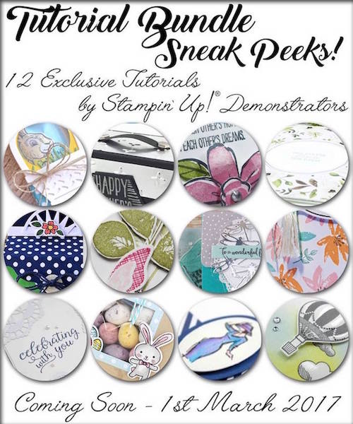 Click here to learn how you can get your hands on Exclusive Tutorial Bundles … #stampyourartout - Stampin' Up!® - Stamp Your Art Out! www.stampyourartout.com