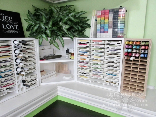 My new Stamp-n-Storage Blends Holder is here! My Stampin' Blends have a home!! (I just need to paint it to match – lol)...#stampyourartout - Stampin' Up!® - Stamp Your Art Out! www.stampyourartout.com