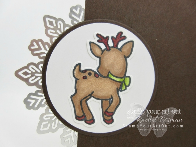 Seasonal Chums Foil Snowflake Cards featuring the new Stampin' Blends – artist quality alcohol-based markers by Stampin' Up!'s!...#stampyourartout - Stampin' Up!® - Stamp Your Art Out! www.stampyourartout.com