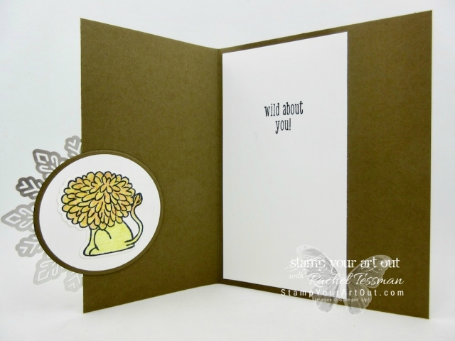 A Little Wild Foil Snowflake Cards...#stampyourartout - Stampin' Up!® - Stamp Your Art Out! www.stampyourartout.com