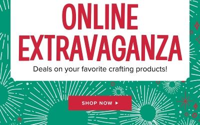 Online Extravaganza Begins Now!