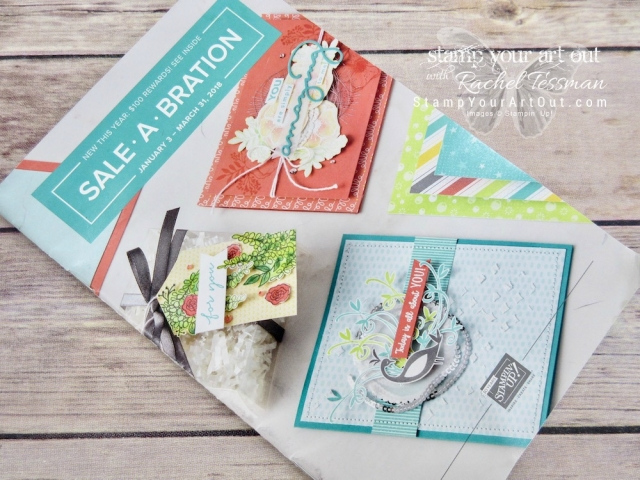 The 2018 Sale-A-Bration Brochure .… #stampyourartout - Stampin' Up!® - Stamp Your Art Out! www.stampyourartout.com