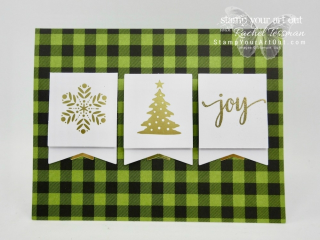 Click here to see alternate ideas created with the BOTH the October Pining for Plaid & November Back In Plaid Paper Pumpkin kits...#stampyourartout #stampinup - Stampin' Up!® - Stamp Your Art Out! www.stampyourartout.com