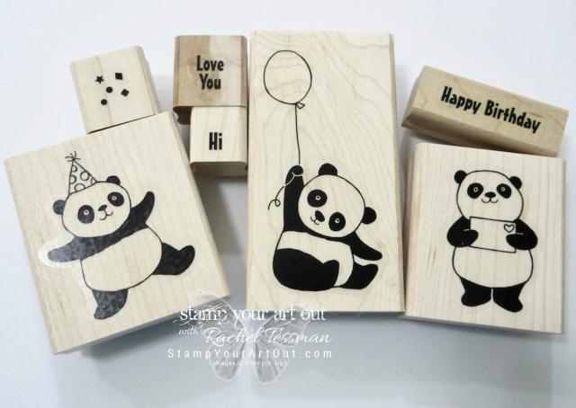 Party Pandas stamp set!...#stampyourartout #stampinup - Stampin' Up!® - Stamp Your Art Out! www.stampyourartout.com