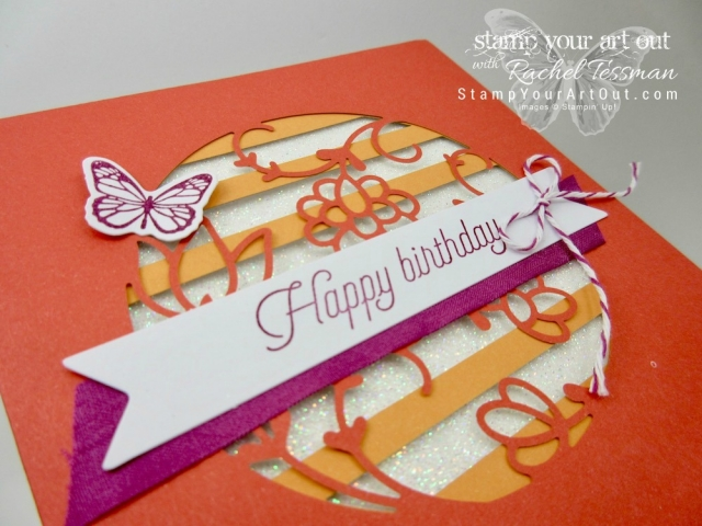 Click here to see photos and a how-to video for a 12x12 scrapbook page layout, fun fish-shaped treat holders, a shaker card, a diorama card, and more!...all created with the December 2017 Flora and Flutter Paper Pumpkin kit! ...#stampyourartout #stampinup - Stampin' Up!® - Stamp Your Art Out! www.stampyourartout.com