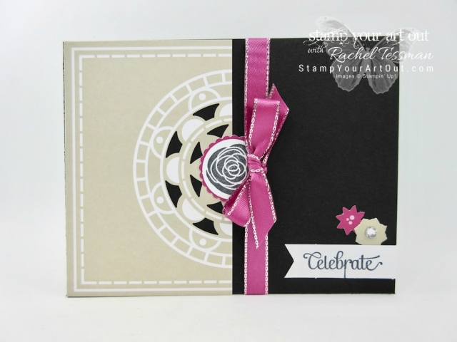 Double the cards in the Mixed Medallions Card Kit, a free pick from the 2018 Sale-a-Bration brochure. Click here for more information...#stampyourartout #stampinup - Stampin' Up!® - Stamp Your Art Out! www.stampyourartout.com