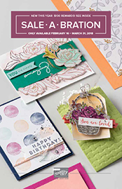 Sale-a-Bration 2018 2nd Release Supplement ...#stampyourartout #stampinup - Stampin' Up!® - Stamp Your Art Out! www.stampyourartout.com
