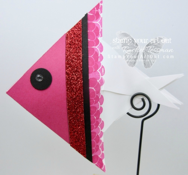 Click here for measurements AND to watch my quick video to see how I made some adorable fishy treat containers out of envelopes...#stampyourartout #stampinup - Stampin' Up!® - Stamp Your Art Out! www.stampyourartout.com