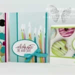 Quick and easy cards created with the Picture Perfect Party designer paper and stamp set…stampyourartout #stampinup - Stampin' Up!® - Stamp Your Art Out! www.stampyourartout.com