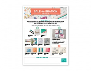 3rd release Sale-a-Bration items 2018...#stampyourartout #stampinup - Stampin' Up!® - Stamp Your Art Out! www.stampyourartout.com